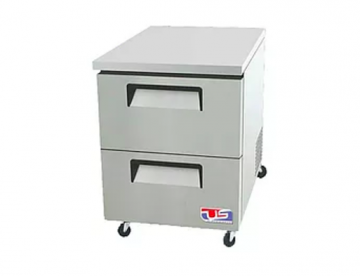 2 drawer under counter refrigerator