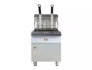 natural gas counter top fryer