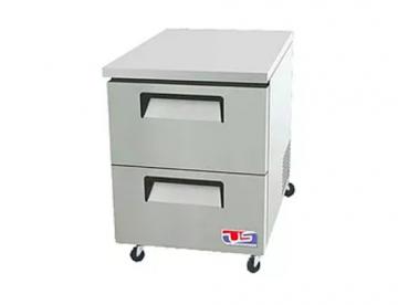 2 drawer under counter refrigerator
