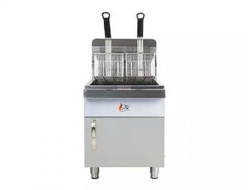 natural gas counter top fryer